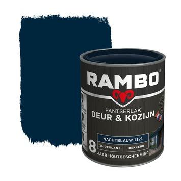 Rambo Pantserlak Deur & Kozijn zijdeglans nachtblauw dekkend 750 ml