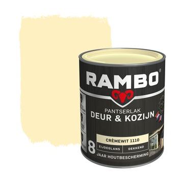 Rambo Pantserlak Deur & Kozijn zijdeglans crèmewit dekkend 750 ml