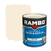 Rambo Pantserbeits Deur & Kozijn zijdeglans ral 9001 dekkend 750 ml