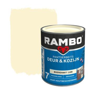 Rambo Pantserbeits Deur & Kozijn hoogglans boerenwit dekkend 750 ml