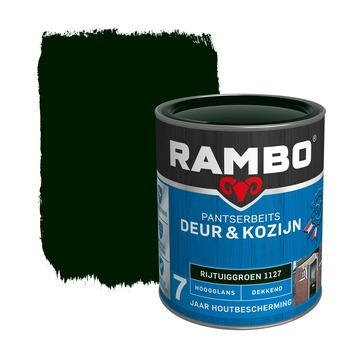 Rambo Pantserbeits Deur & Kozijn hoogglans rijtuigengroen dekkend 750 ml