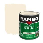 Rambo Pantserbeits Tuinhout zijdeglans ral 9001 dekkend 750 ml
