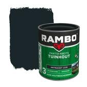 Rambo Pantserbeits Tuinhout zijdeglans antraciet dekkend 750 ml