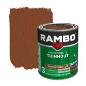 Rambo Pantserbeits Tuinhout zijdeglans donkereiken transparant 750 ml