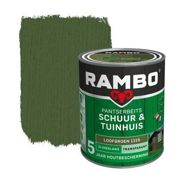 Rambo Pantserbeits Schuur & Tuinhuis zijdeglans loofgroen transparant 750 ml