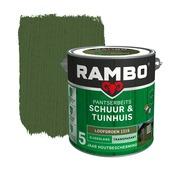 Rambo Pantserbeits Schuur & Tuinhuis zijdeglans loofgroen transparant 2,5 l