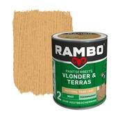 Rambo Pantserbeits Vlonder & Terras mat natural teak transparant 1 l