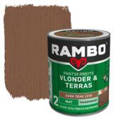 Rambo Pantserbeits Vlonder & Terras mat dark teak transparant 1 l