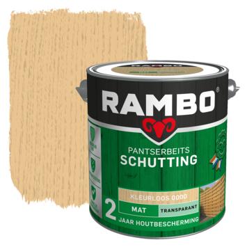 Rambo Pantserbeits Schutting mat kleurloos transparant 2,5 l