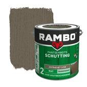 Rambo Pantserbeits Schutting mat antraciet transparant 2,5 l