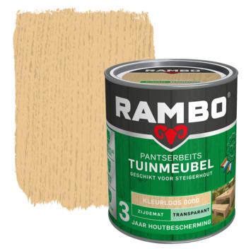 Rambo Pantserbeits Tuinmeubel zijdemat kleurloos transparant 750 ml