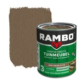 Rambo Pantserbeits Tuinmeubel zijdemat greywash transparant 750 ml