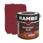 Rambo Teak Olie transparant 2,5 l