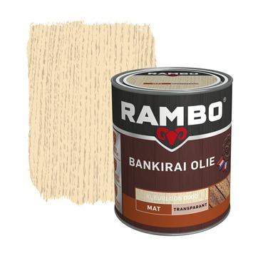 Rambo Bankirai Olie kleurloos transparant 750 ml