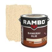 Rambo Bankirai Olie kleurloos transparant 2,5 l