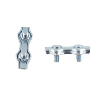 Ledent kabelklem duplex tot Ø 2 mm (2 stuks)