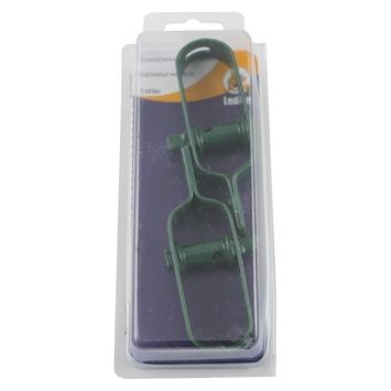 Ledent draadspanner verzinkt groen (2 stuks)