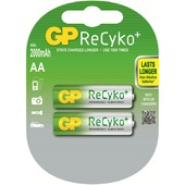 GP ReCyKo penlite batterij AA oplaadbaar (2 stuks)