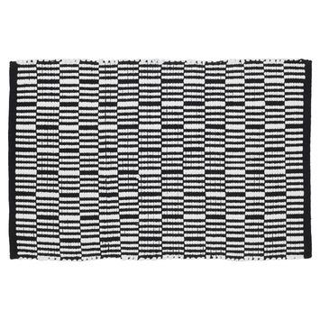 Sealskin Bandra badmat zwart 60x90 cm