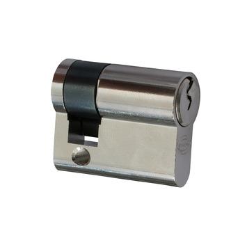 NEMEF halve profielcilinder nikkel 30/10 mm
