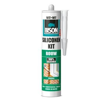 Bison siliconenkit bouw wit koker 300 ml
