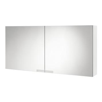 Tiger Items spiegelkast 50x105x15 cm 2 deuren hoogglans wit