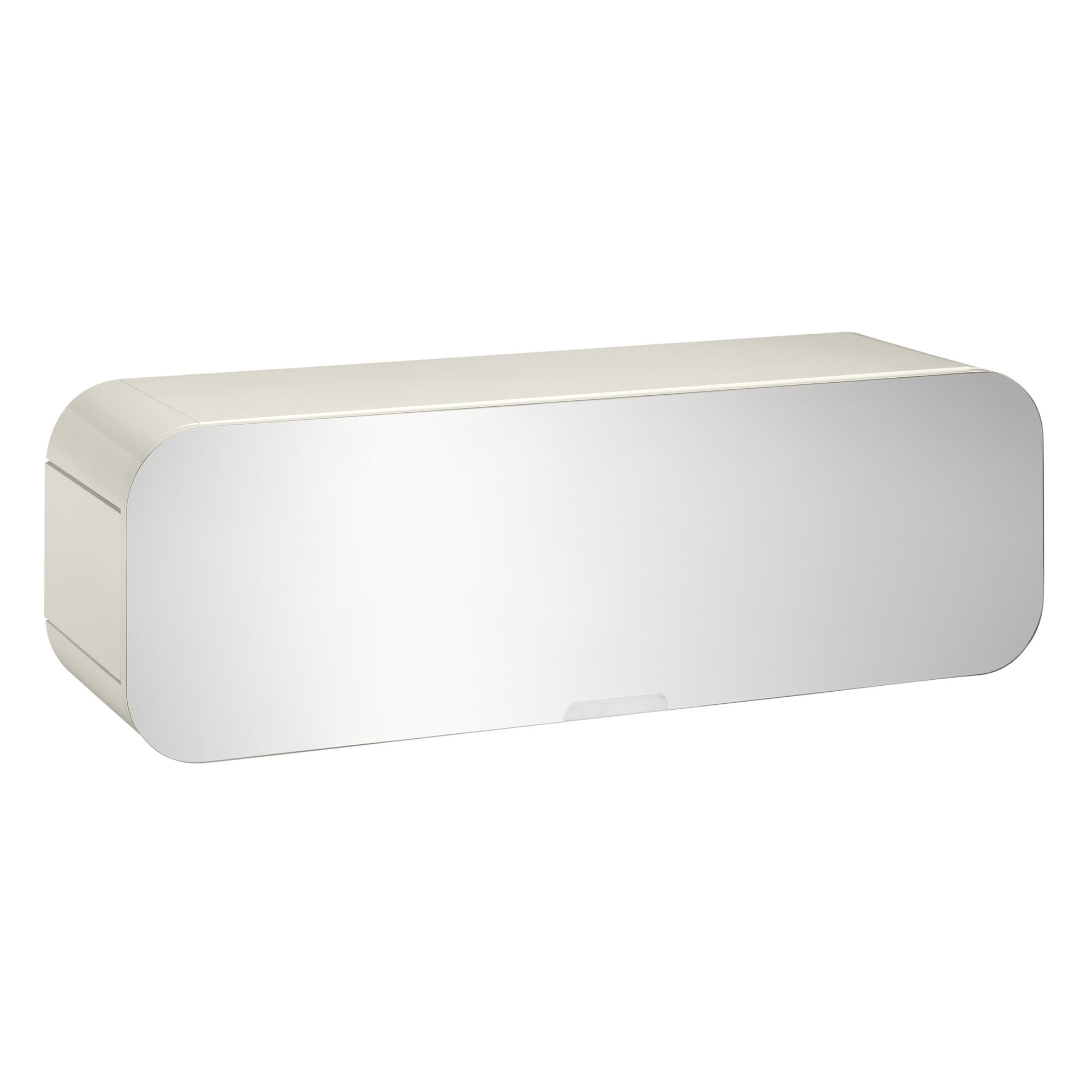 Tiger Ontario horizontale spiegelkast 105 cm, wit hoogglans