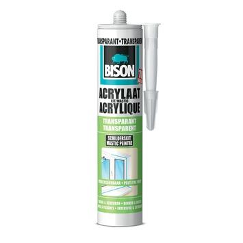 Bison acrylaatkit universeel transparant koker 300 ml