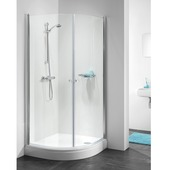 Get Wet C105 douchecabine kwartrond 90x195cm chroom