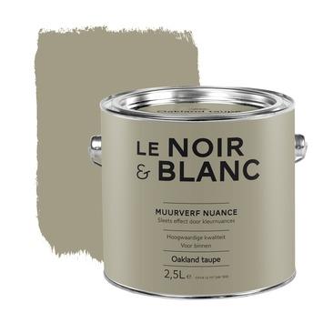 Le Noir & Blanc muurverf nuance oakland taupe 2,5 l