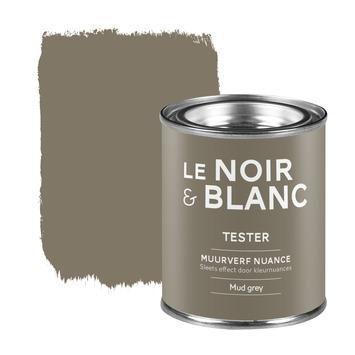 Le Noir & Blanc muurverf nuance mud grey 100 ml