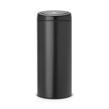 Brabantia prullenbak 30 liter 'Touch Bin' zwart