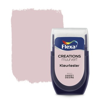 Flexa Creations muurverf Kleurtester Sweet Desire mat 30ml