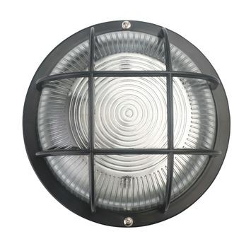 Handson Bull-Eye wandlamp rond zwart