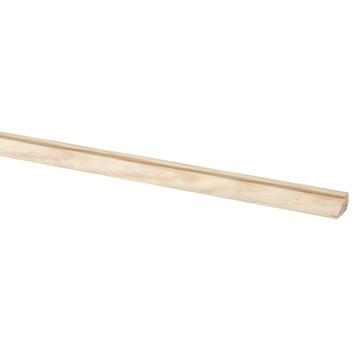 Glaslat grenen 9x15 mm lengte 270 cm