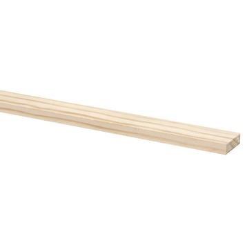 Schaaflat grenen 9x37 mm, lengte 270 cm