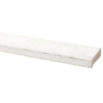 Glaslat hardhout 18x45 mm lengte 270 cm gegrond