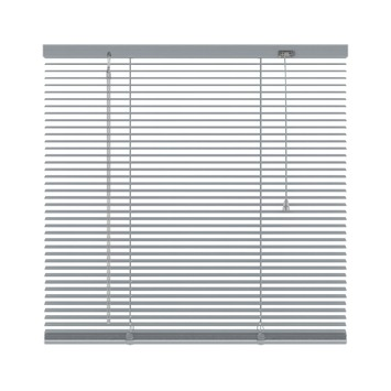 KARWEI horizontale aluminium jaloezie 16 mm zilver (221) 80 x 180 cm (bxh)