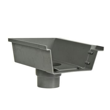 Martens bakgooteinduitloop rechts grijs 125 mm