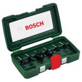 Bosch houtfrezenset HM 8 mm (6-delig)