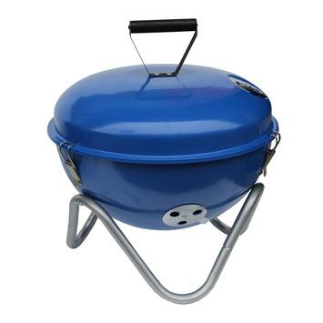 Tafelbarbecue blauw 34 cm
