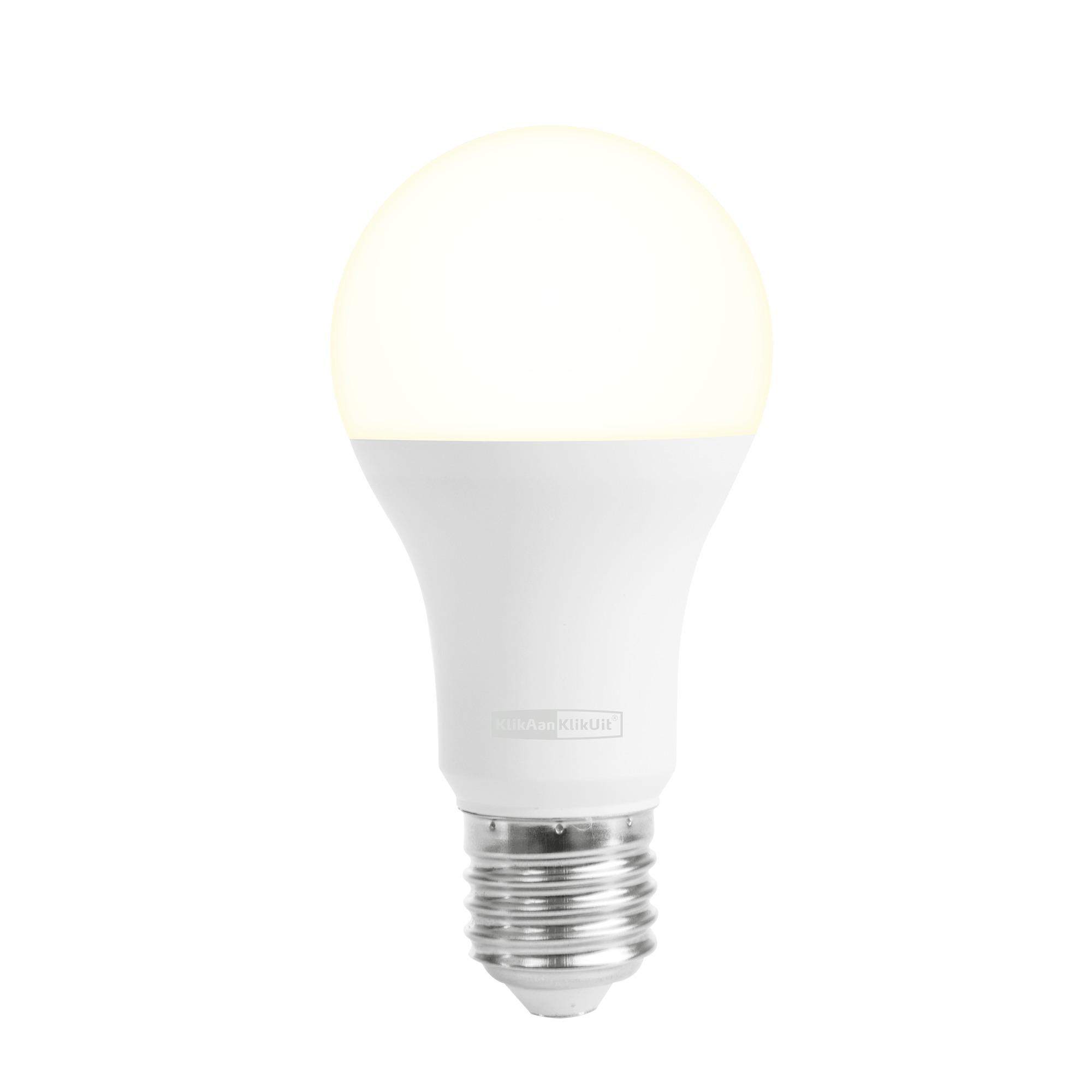 KlikAanKlikUit ALED-2709 Draadloze dimbare LEDlamp E27 9 Watt