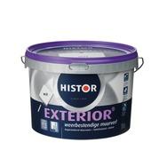Histor exterior muurverf mat wit 2,5 l