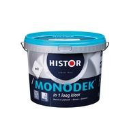 Histor Monodek muurverf mat wit 5 l