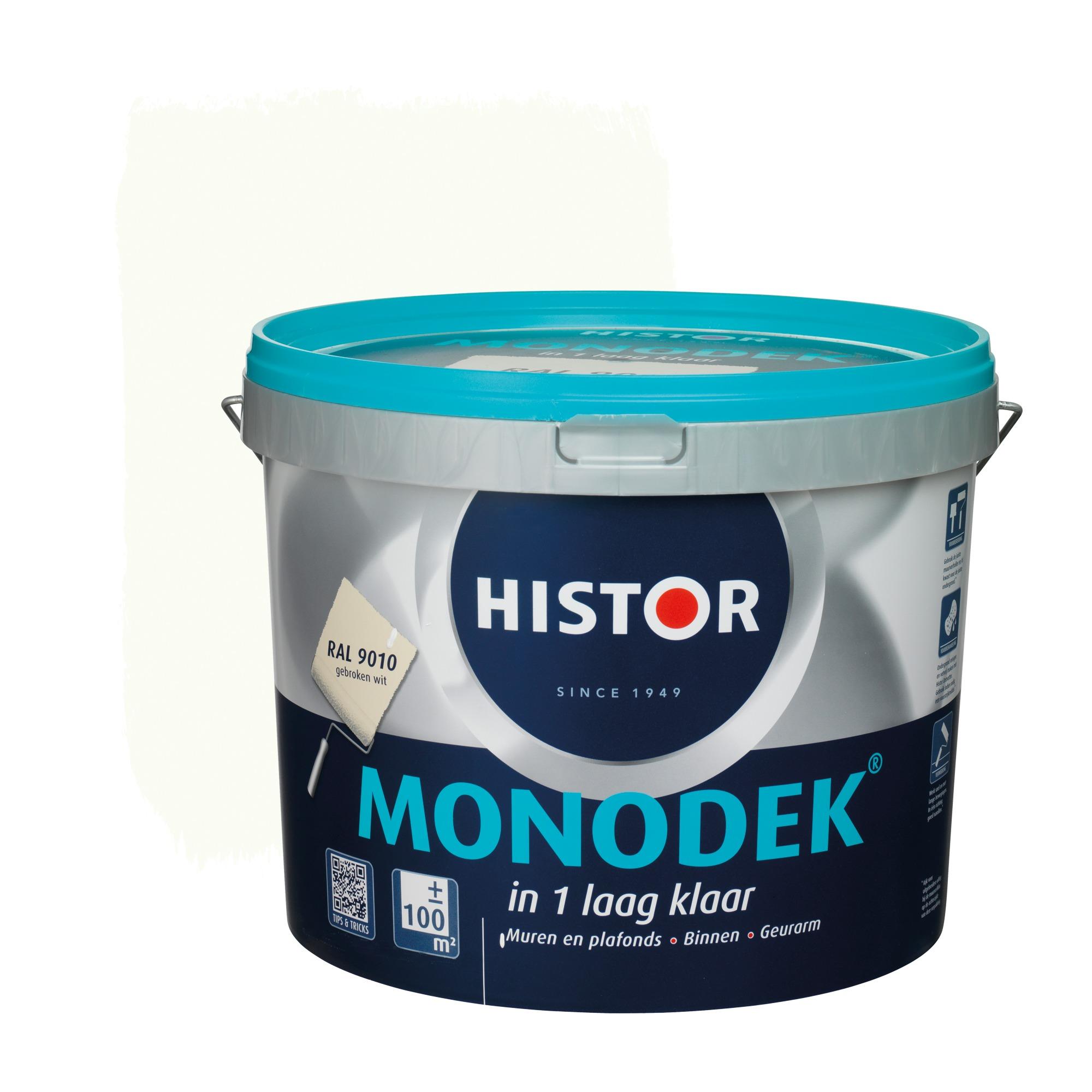 Histor Monodek Muurverf 10 liter