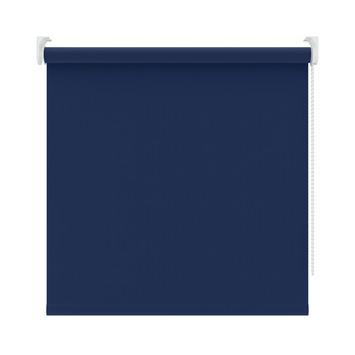 KARWEI rolgordijn verduisterend blauw (5740) 90 x 190 cm