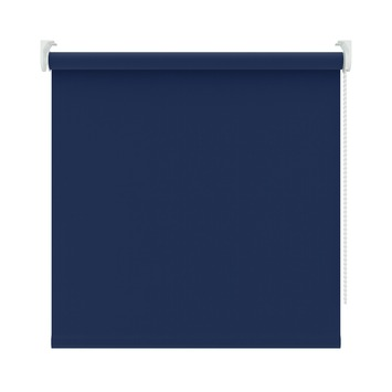 KARWEI rolgordijn verduisterend blauw (5740) 180 x 190 cm (bxh)