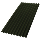 Aquaplan Topline bitumen golfplaat 200x86 cm groen