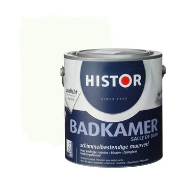 Histor muurverf badkamer zijdeglans gebroken wit 9010 2,5 l kopen ...