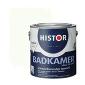 Histor muurverf badkamer zijdeglans gebroken wit 9010 2,5 l